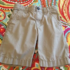 Boys khaki shorts by OshKosh, size 5